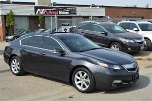 2012 Acura TL NO ACCIDENTS Tech Pkg Navigation Leather Sunroof