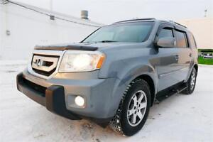 2009 Honda Pilot Touring/Nav/Backup Cam/Rear DVD/1 Yr Warrenty