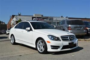 2013 Mercedes-Benz C300 NO ACCIDENTS 4Matic Navi Leather Sunroof