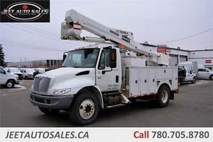 2007 International 4300 TEREX TL44M BUCKET BOOM