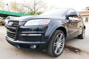 2009 Audi Q7 S-line//Blk on Blk//Accident Free// 2 Year Warranty