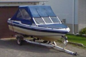 Thunder Craft 17ft. with 115 hp Mercury and trailer