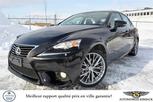 2014 Lexus IS 250 AWD BLUETOOTH/CAMERA/CUIR/TOIT $85/SEMAINE