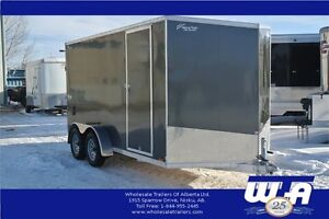 7X14' ALL ALUMINUM ENCLOSED CARGO BY PACE AMERICAN
