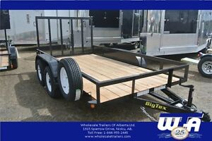 25 YEAR ANNIVERSARY SALE-6X12' MINI TANDEM UTILITY TRAILER