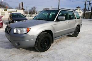 2007 Subaru Forester XS//Accident Free//1 Year Warranty