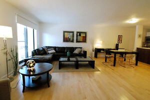FULLY FURNISHED,4 1/2(2 BEDROOMS) DOWNTOWN MONTREAL,ATWATER