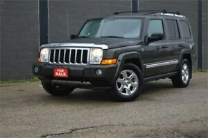 2006 Jeep Commander Limited 4X4 LOW KM