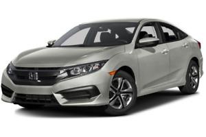 Reprise de location - Honda Civic 2016