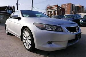 2008 Honda Accord Cpe EX-L -- Leather-- Sunroof-- Clean Title
