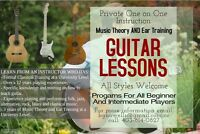 Private Guitar Lessons with Experienced Teacher