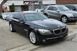 2012 BMW 750i xDrive NO ACCIDENTS Navi Lane Departure Back Cam