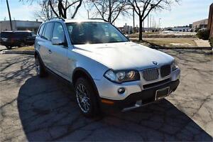 2008 BMW X3 3.0i | All Wheel Drive | Panoramic Sunroof