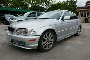 2003 BMW 330Ci -- Clean title--Safety--Some rust