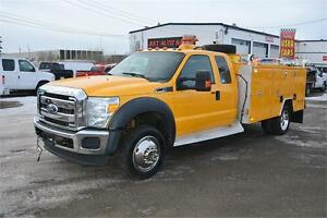 2011 Ford F-550 XLT 4X4 11FT SERVICE TRUCK/VMAC/OIL E-VAC SYSTEM