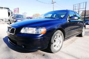 2007 Volvo S60//Sunroof//Leather//Mint//Accident Free//1 Yr Warr