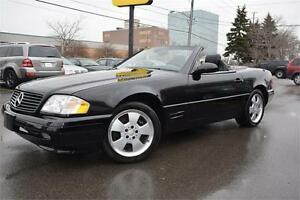 2002 MERCEDES BENZ SL 500