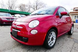 2012 FIAT 500 Pop/Local/Service records/1 Owner