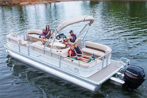 NEW Sun Tracker Party Barge 24 DLX