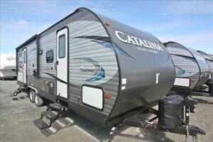Coachmen Catalina Legacy Edition273DBS Bunks and Large Slide-out
