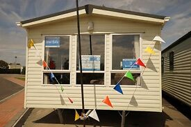 CARNABY ROSEDALE LUXURY STATIC CARAVAN HOLIDAY HOME 5* RESORT SKEGNESS - PAYMENT OPTIONS AVAILABLE