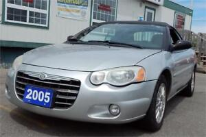 REDUCED! 2005 Chrysler Sebring Conv Touring