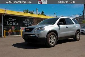 2012 GMC Acadia AWD 7 PASSENGER REDUCED CHEAP PAYMENTS