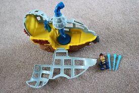 Jake & Neverland Pirates Submarine Bucky's Never Sea Adventure by Fisher Price - VGC