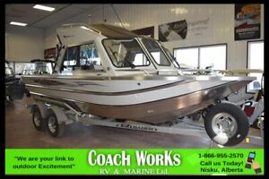 2018 THUNDER JET LUXOR 20 FISHING BOAT, OUTBOARD