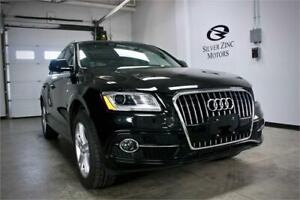 2016 Audi Q5 S-line Panoroof, Navi pkg,Factory warranty,V.G Cond