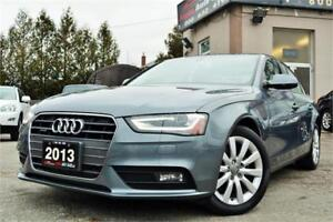 2013 Audi A4 2.0T Quattro *ONLY 117k KM* NO ACCIDENTS* CERTIFIED