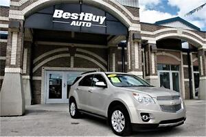 2011 Chevrolet Equinox AWD/Top of the line/WARRANTY INCLUDED