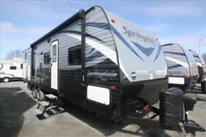 Keystone Springdale 303BH  -  Two Slide-outs, Bunkhouse!  Deal!!