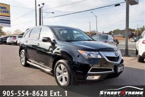 2010 Acura MDX Tech Pkg|7 PASSSENGER|NAVI|ACCIDENT FREE|SUNROOF