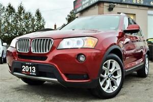 2013 BMW X3 28i X-Drive *1 OWNER* NO ACCIDENTS* NAV* CERTF!