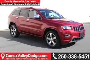 2015 Jeep Grand Cherokee Overland ONE OWNER, ACCIDENT FREE, N...