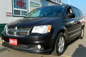 2015 Dodge Grand Caravan Crew Plus  WE FINANCE