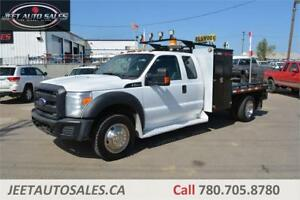 2013 Ford Super Duty F-550 Extd Welding Deck, Tool Cabinets, Gas