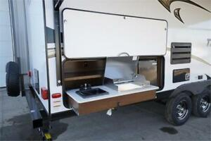 24 foot Travel Trailer with bunks: $96/payment