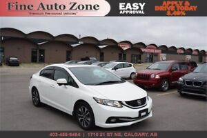 2015 Honda Civic Ex Sunroof B.Cam Bluetooth 3 Months Warranty