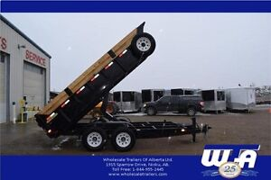 CANADIAN MADE 7X14' DUMP TRAILER - SALE PRICED