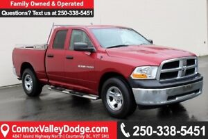 2012 RAM 1500 ST ONE OWNER, ACCIDENT FREE, BLUETOOTH, KEYLESS...