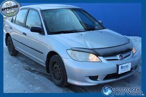 2005 Honda Civic Sdn SE LOW KMS REDUCED