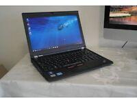 Lenovo Thinkpad X230 Laptop Core i5-3320 , 8GB ram ,120gb SSD