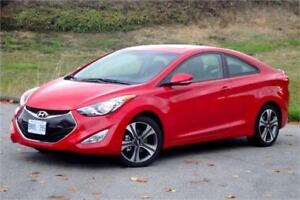 2013 Hyundai Elantra Coupe COUPE **NAVIGATION-LEATHER-ROOF-CAMER