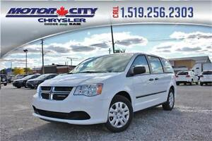 2017 Dodge Grand Caravan Canada Value Package LEASE