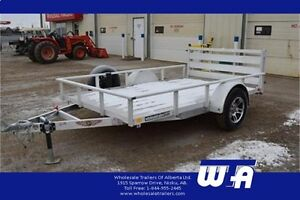 6X10' ALL ALUMINUM Utility Trailer