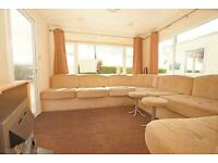 Preowned Caravan for sale with decking included on 5 star park