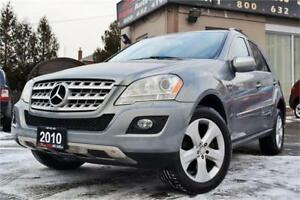 2010 Mercedes-Benz M-Class ML350 BlueTEC *CERTIFIED & WARRANTY!