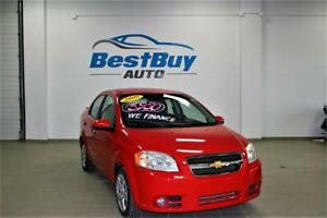 2009 Chevrolet Aveo LT/LOW KM/LOADED/WE FINANCE 2% interest